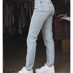 Blue brandy jeans